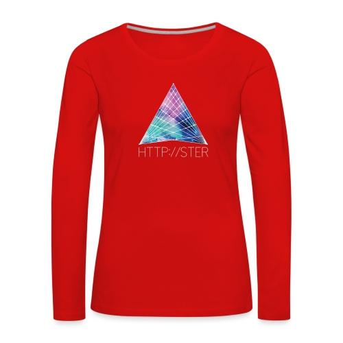 HTTPSTER - Vrouwen Premium shirt met lange mouwen