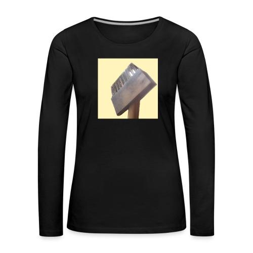 Klausens Unkrautbürste - Frauen Premium Langarmshirt