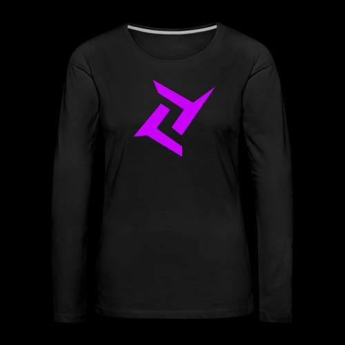 New logo png - Vrouwen Premium shirt met lange mouwen