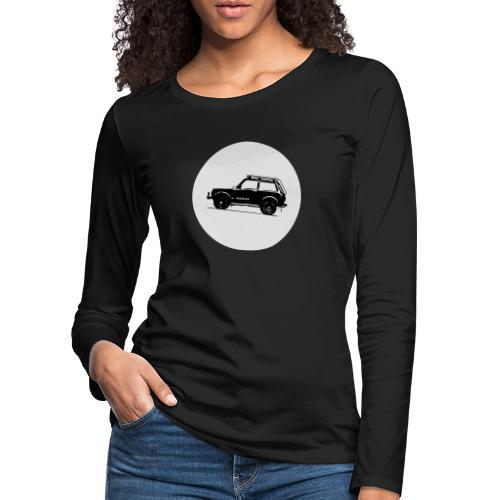Lada Niva Kreis - Frauen Premium Langarmshirt