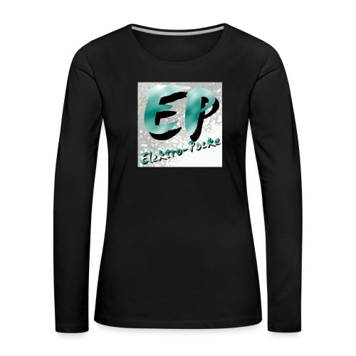 Elektro-Pocke T-Shirt Premium - Frauen Premium Langarmshirt