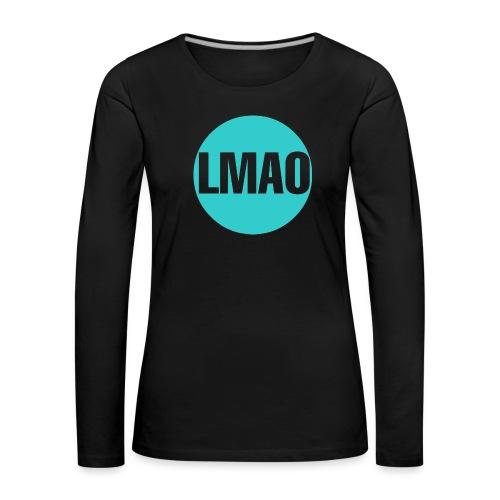 Camiseta Lmao - Camiseta de manga larga premium mujer
