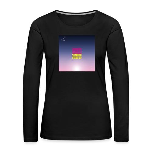 T-shirt herr Skärgårdsskrattet - Långärmad premium-T-shirt dam
