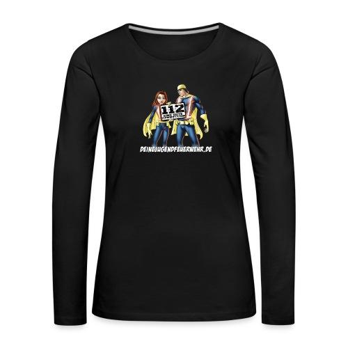 Superhelden & Logo - Frauen Premium Langarmshirt