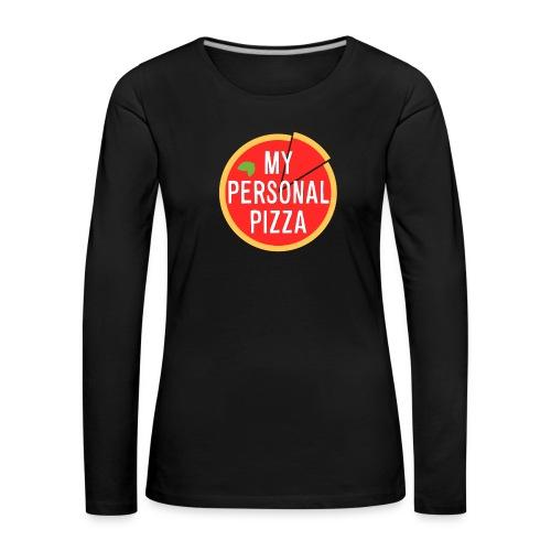 maglietta_alsina_noshadow_textshadow - Maglietta Premium a manica lunga da donna