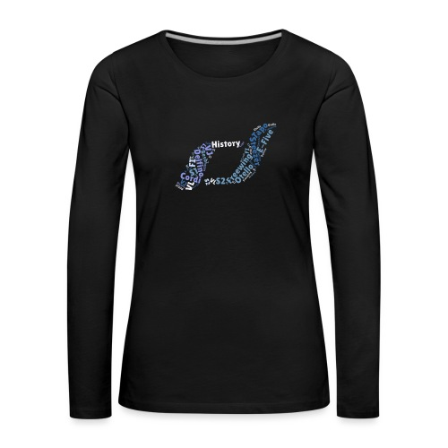 snm-daelim-models-d - Frauen Premium Langarmshirt