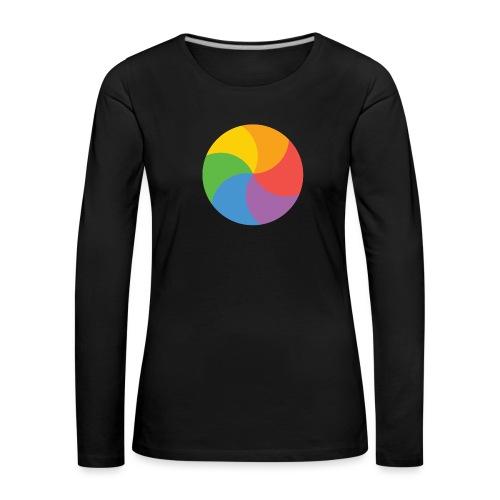 BeachBal - Vrouwen Premium shirt met lange mouwen