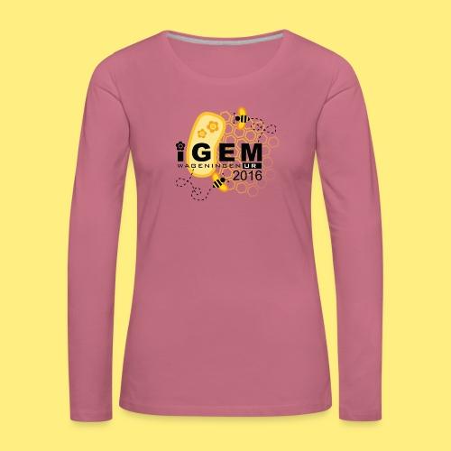 Logo - shirt men - Vrouwen Premium shirt met lange mouwen