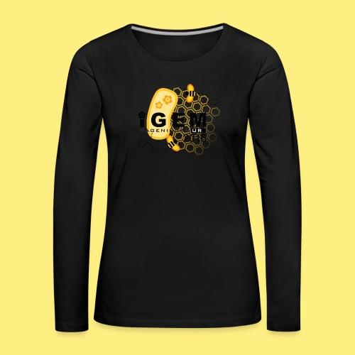 Logo - mug - Vrouwen Premium shirt met lange mouwen