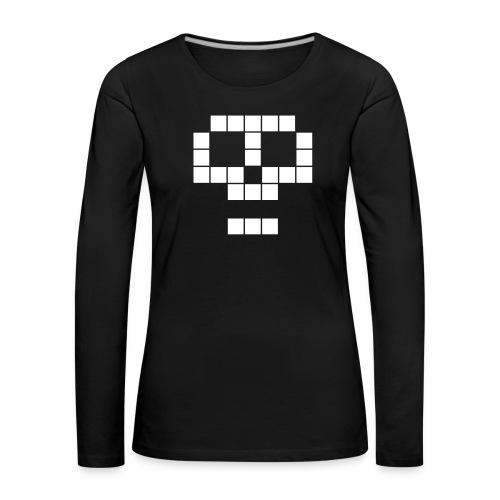skull - T-shirt manches longues Premium Femme