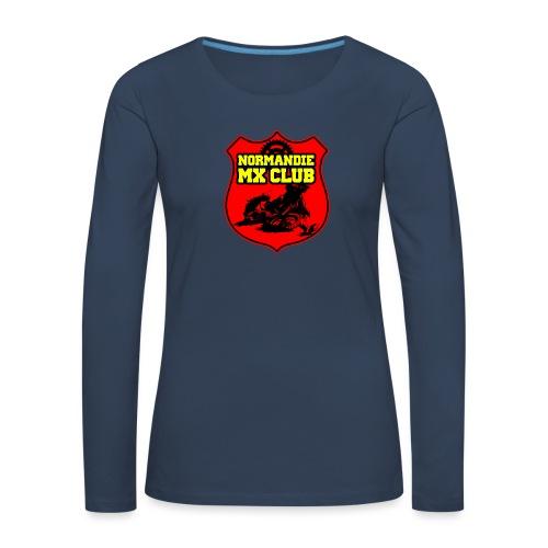 Casquette Normandie MX Club - T-shirt manches longues Premium Femme