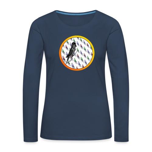 Star Birds - Naisten premium pitkähihainen t-paita