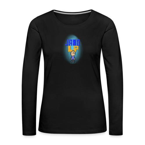 Pixel Jamo - Dame premium T-shirt med lange ærmer
