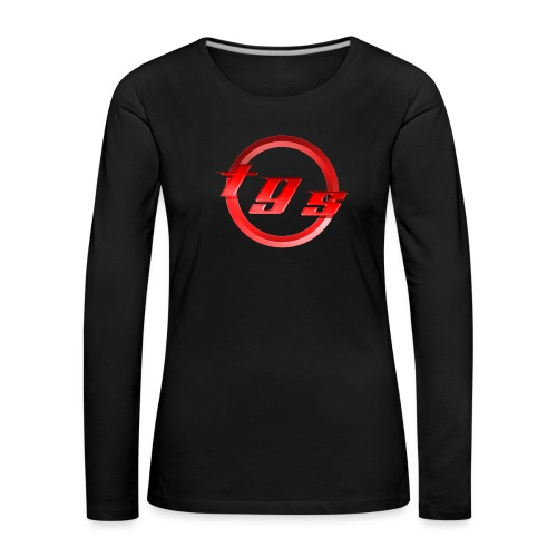 Logo-nl-be - Vrouwen Premium shirt met lange mouwen
