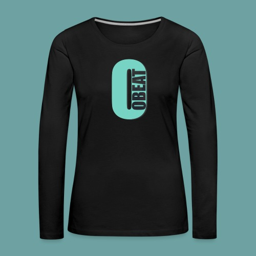 OBeat Logo O - Vrouwen Premium shirt met lange mouwen