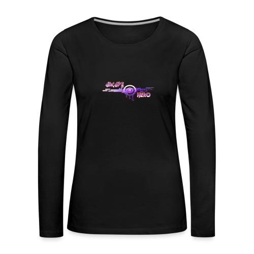 Arcade Hero - Frauen Premium Langarmshirt