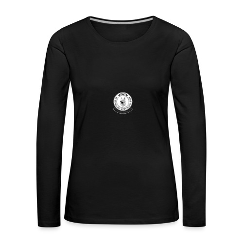 vhk-ny-logo-pos - Långärmad premium-T-shirt dam