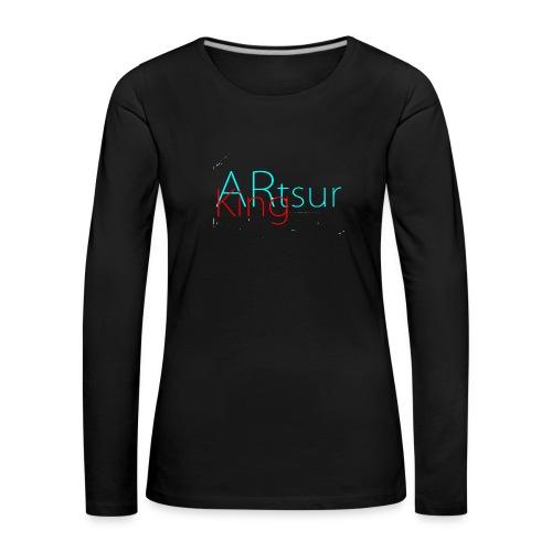 ARtsurKing Logo - Women's Premium Longsleeve Shirt