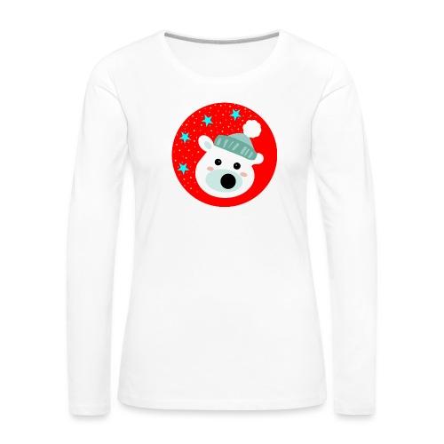 Winter bear - Women's Premium Longsleeve Shirt