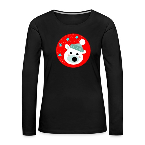 Winter bear - Women's Premium Longsleeve Shirt