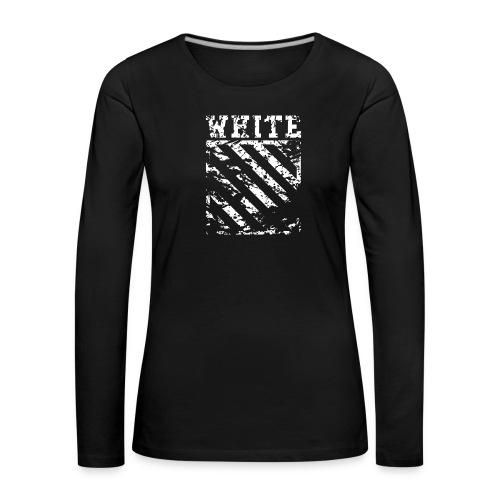 Off-White Streetwear - Dame premium T-shirt med lange ærmer