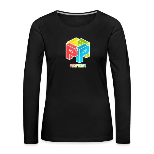 Perspective - T-shirt manches longues Premium Femme