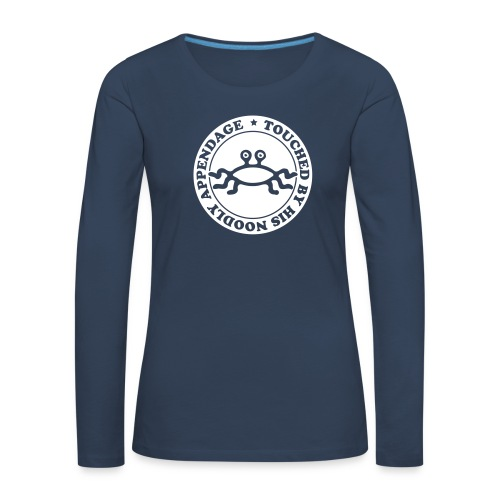 Touched by His Noodly Appendage - Women's Premium Longsleeve Shirt