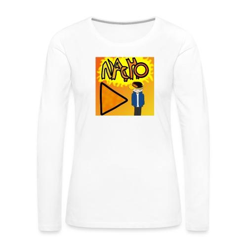 Nacho Title with Little guy - Women's Premium Longsleeve Shirt