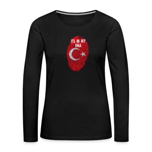 It's in my DNA (TR) - Vrouwen Premium shirt met lange mouwen
