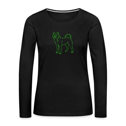 akita - Women's Premium Longsleeve Shirt