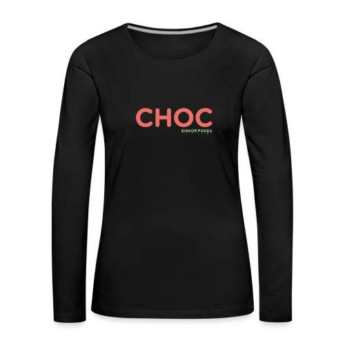 CHOC 2 - Maglietta Premium a manica lunga da donna