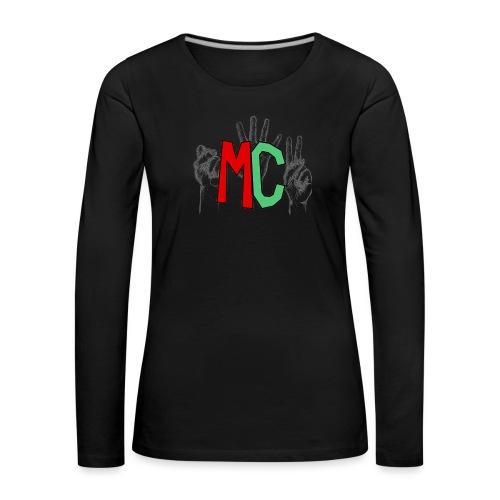 Logo vuoto iMorracinese - Maglietta Premium a manica lunga da donna