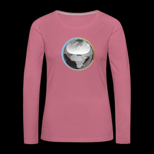 beeldmerk puretrance transparant png - Women's Premium Longsleeve Shirt