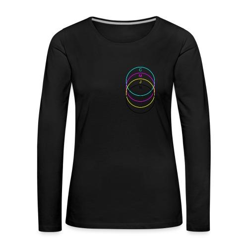 C-M-Y-K - T-shirt manches longues Premium Femme