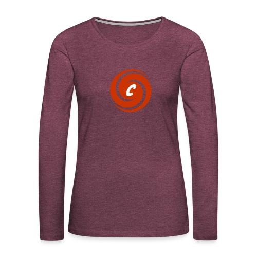 Logo Cinnox - Frauen Premium Langarmshirt