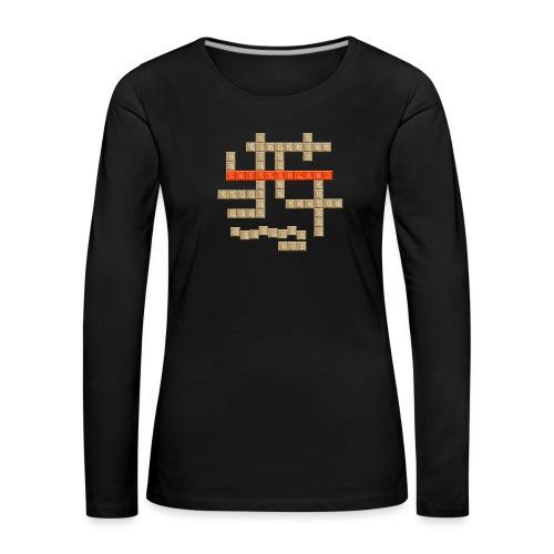 Scrabble - Switzerland - Frauen Premium Langarmshirt
