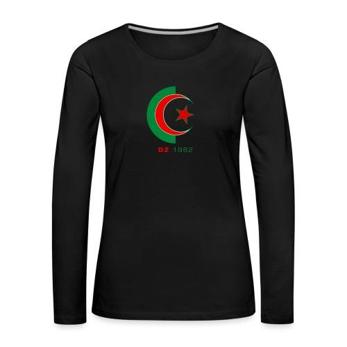 logo 3 sans fond dz1962 - T-shirt manches longues Premium Femme