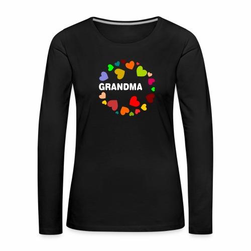 Grandma - Frauen Premium Langarmshirt