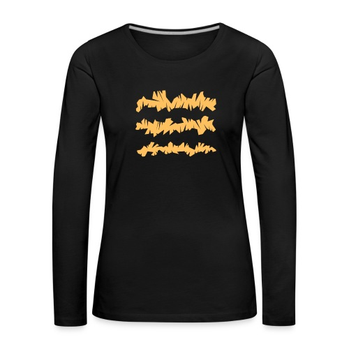 Orange_Sample.png - Frauen Premium Langarmshirt