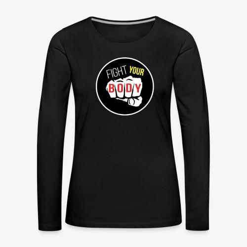 logo fyb noir - T-shirt manches longues Premium Femme