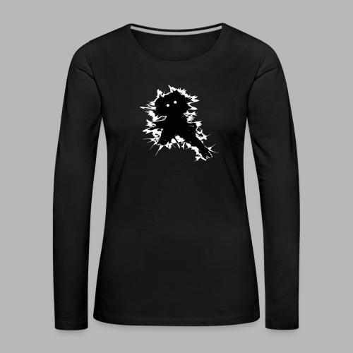 Charlie The Scratch Kid - Women's Premium Longsleeve Shirt