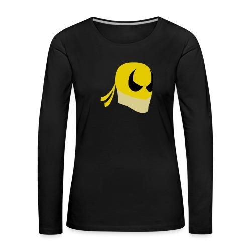 Iron Fist Simplistic - Women's Premium Longsleeve Shirt