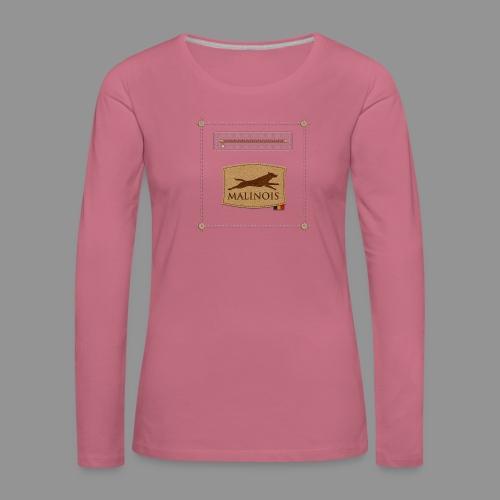 Belgian shepherd Malinois - Women's Premium Longsleeve Shirt