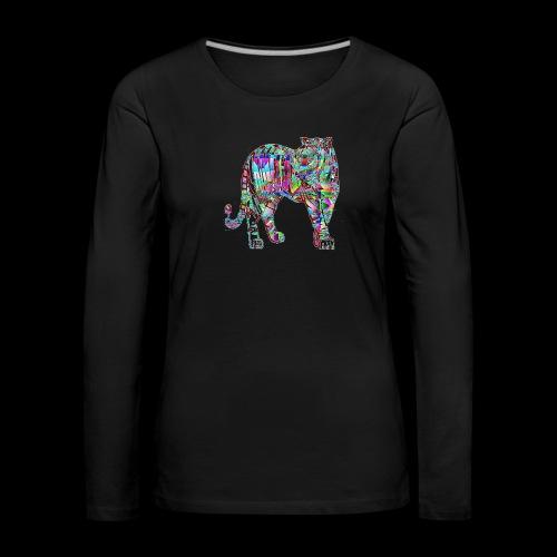 Tigre - T-shirt manches longues Premium Femme