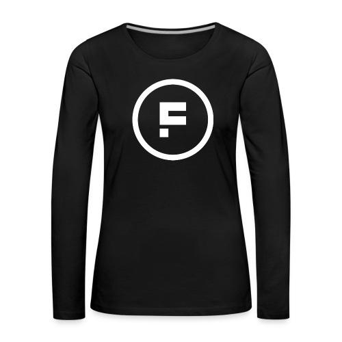 Logo_Rond_3500x3500 - Vrouwen Premium shirt met lange mouwen