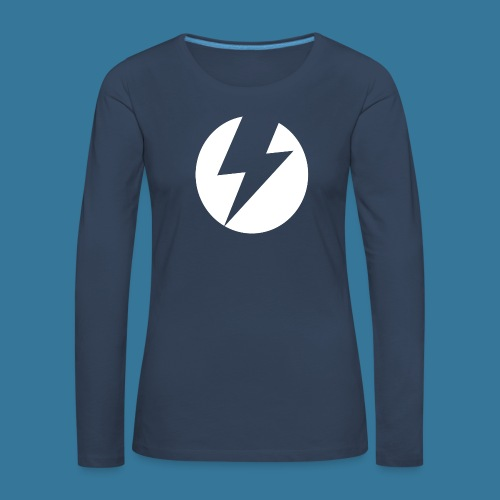BlueSparks - White - Women's Premium Longsleeve Shirt