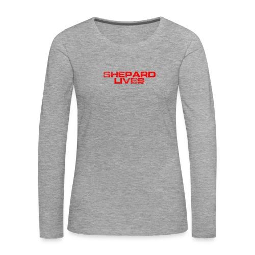 Shepard lives - Women's Premium Longsleeve Shirt