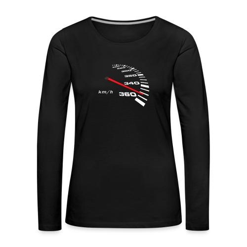 Turbo Tacho Extrem Tuning - Frauen Premium Langarmshirt