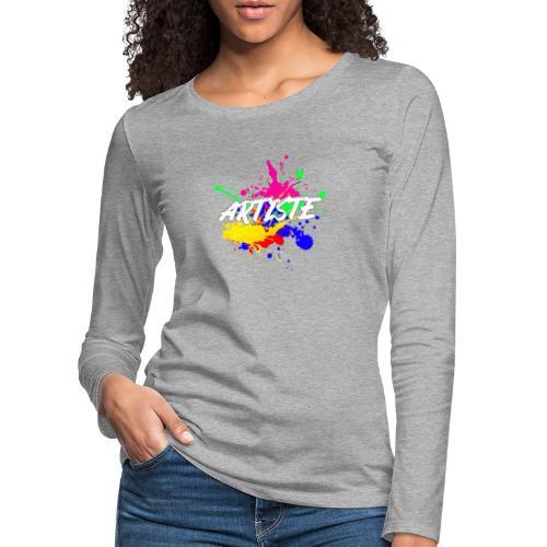 Artiste Français - T-shirt manches longues Premium Femme