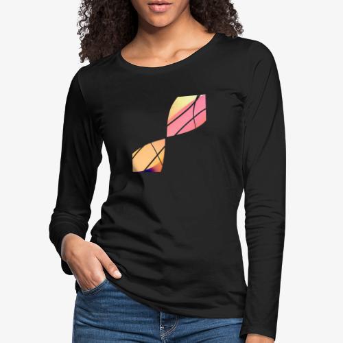 Wave - Maglietta Premium a manica lunga da donna